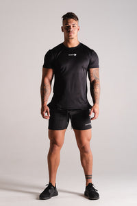 Sparta OXYGN Performance T-shirt - Black - Sparta Gym Wear