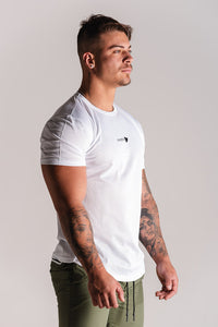 Sparta OXYGN Performance T-Shirt - White - Sparta Gym Wear