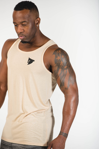 Sparta WARFIT Tank - Beige - Sparta Gym Wear