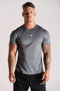 Sparta OXYGN Performance T-Shirt - Slate Grey - Sparta Gym Wear