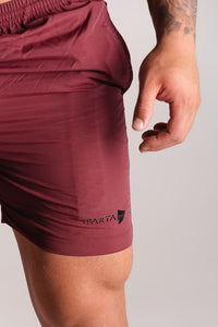 Sparta Stealth Shorts - Shadow Red - Sparta Gym Wear