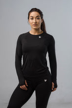 Sparta Dry Long Sleeve Top - Black