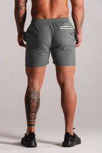 Sparta Tech Shorts - Charcoal Grey - Sparta Gym Wear