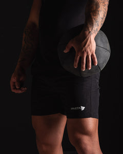 Sparta Tech Shorts - Black - Sparta Gym Wear