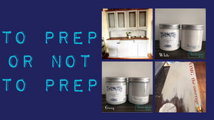 To Prep or Not to Prep? That is the question on everyones lips.