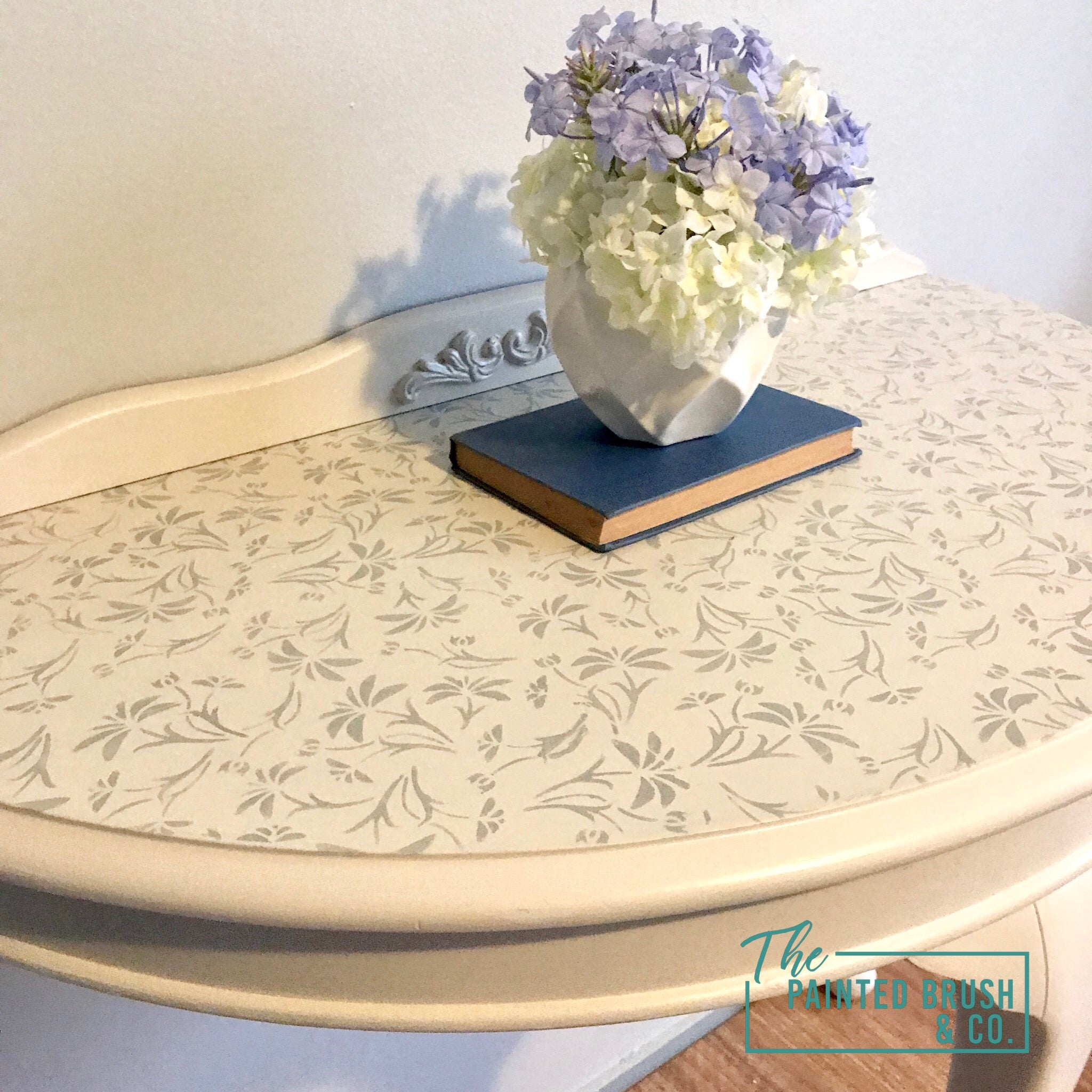 Lacey - Half Moon Hall Table
