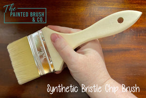 Synthetic Bristle Chip Brush - Large 75mm