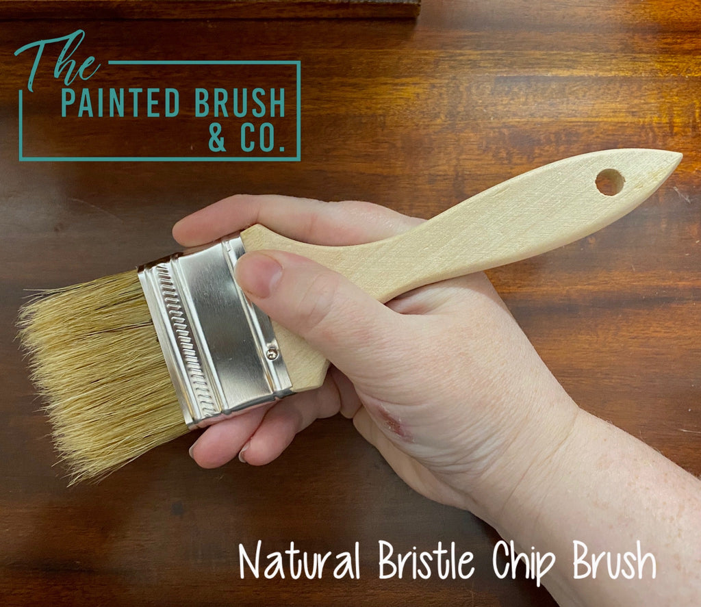 Natural Bristle Chip Brush - Small 50mm