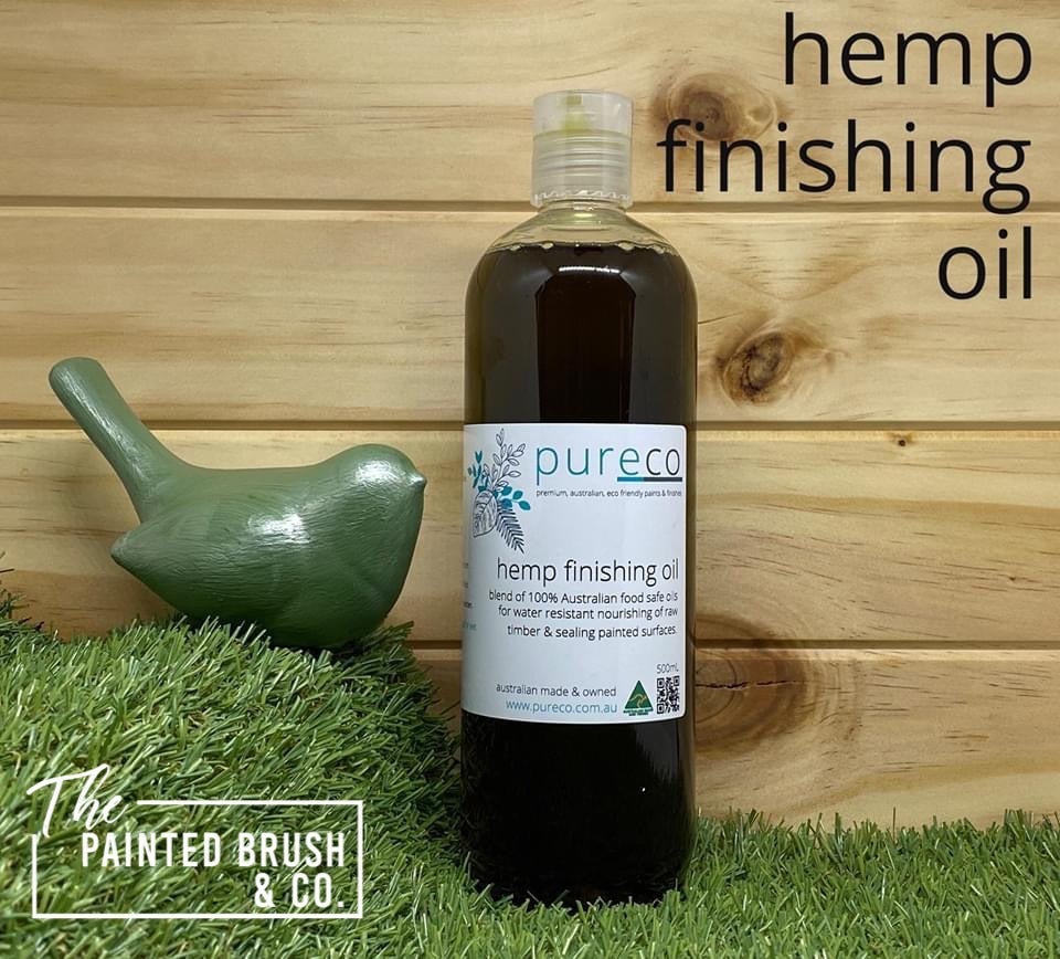 Pureco Hemp Finishing Oil
