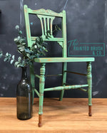 Vintage Fern Green Chair