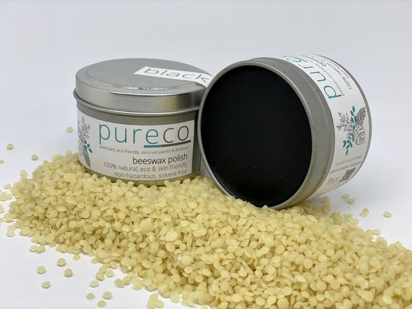 Pureco Beeswax Polish - Black