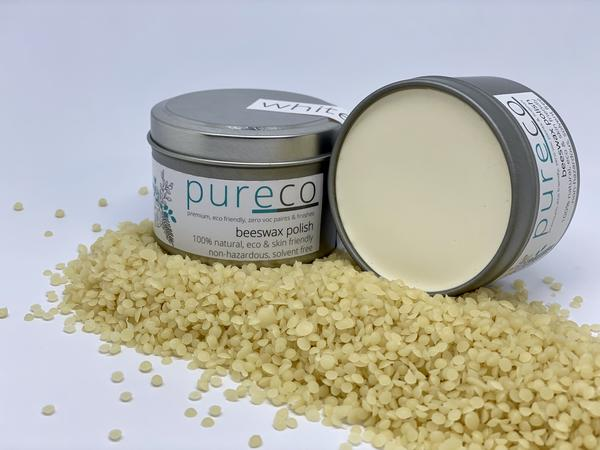 Pureco Beeswax Polish - White