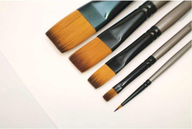 Gallery Series Brush Set Acrylic 5pc
