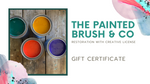 The Painted Brush & Co Gift Certificate