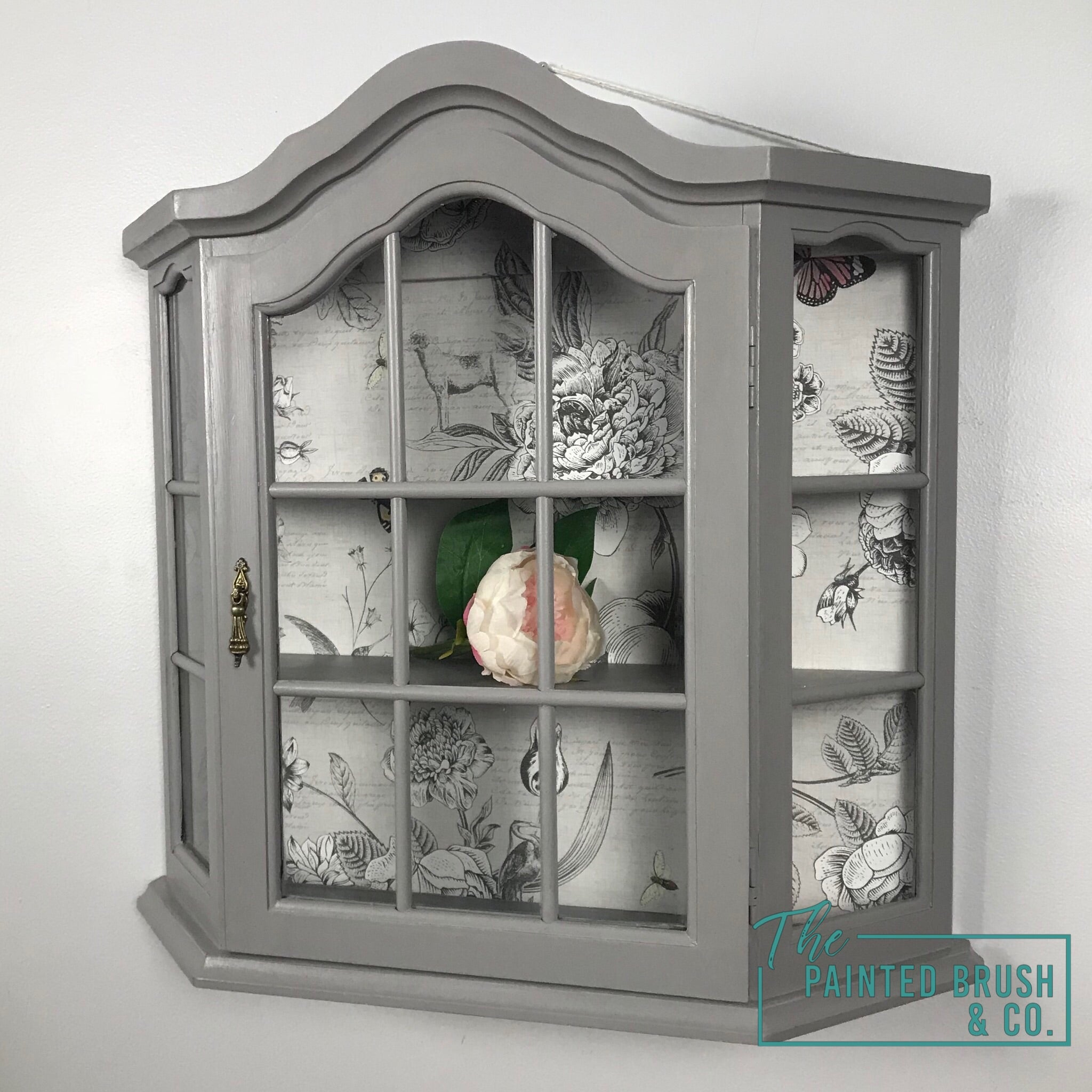 Vintage Hanging Display Cupboard