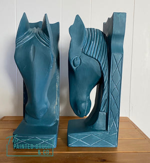 Byzantine Horsehead Bookends