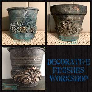 Efex Appliques & Creating Texture Decorative Finishes Workshop