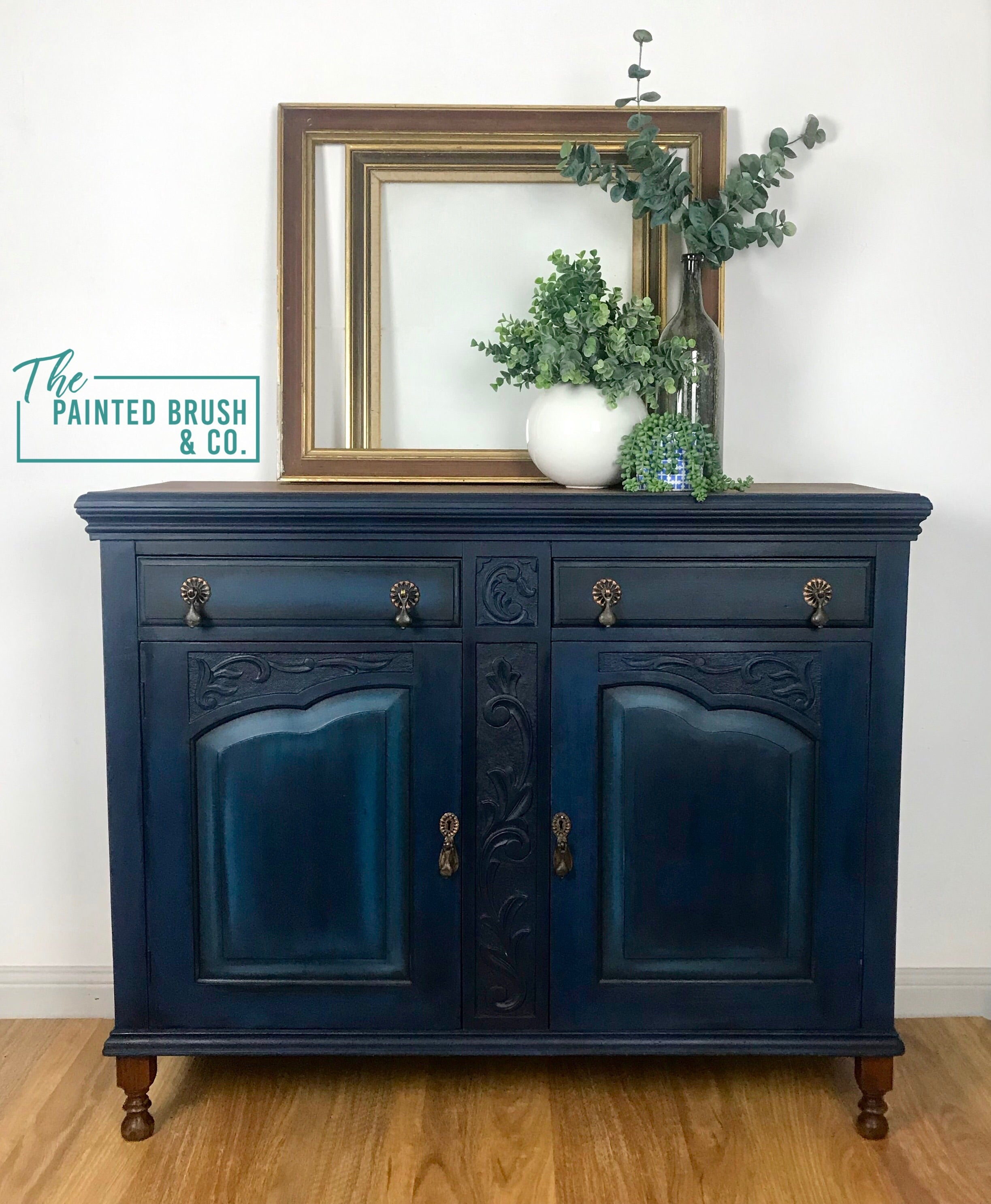 Beautiful in Navy Sideboard