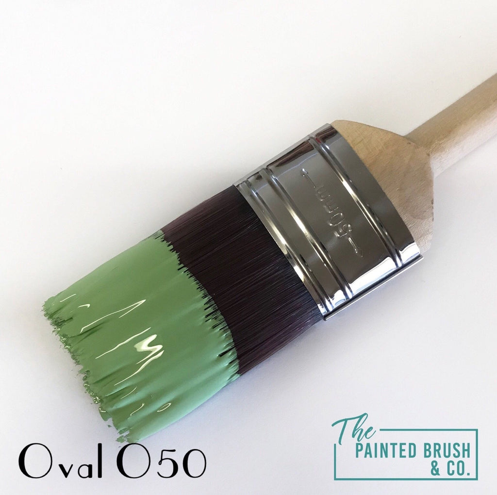 Long Handle Oval Paint Brush