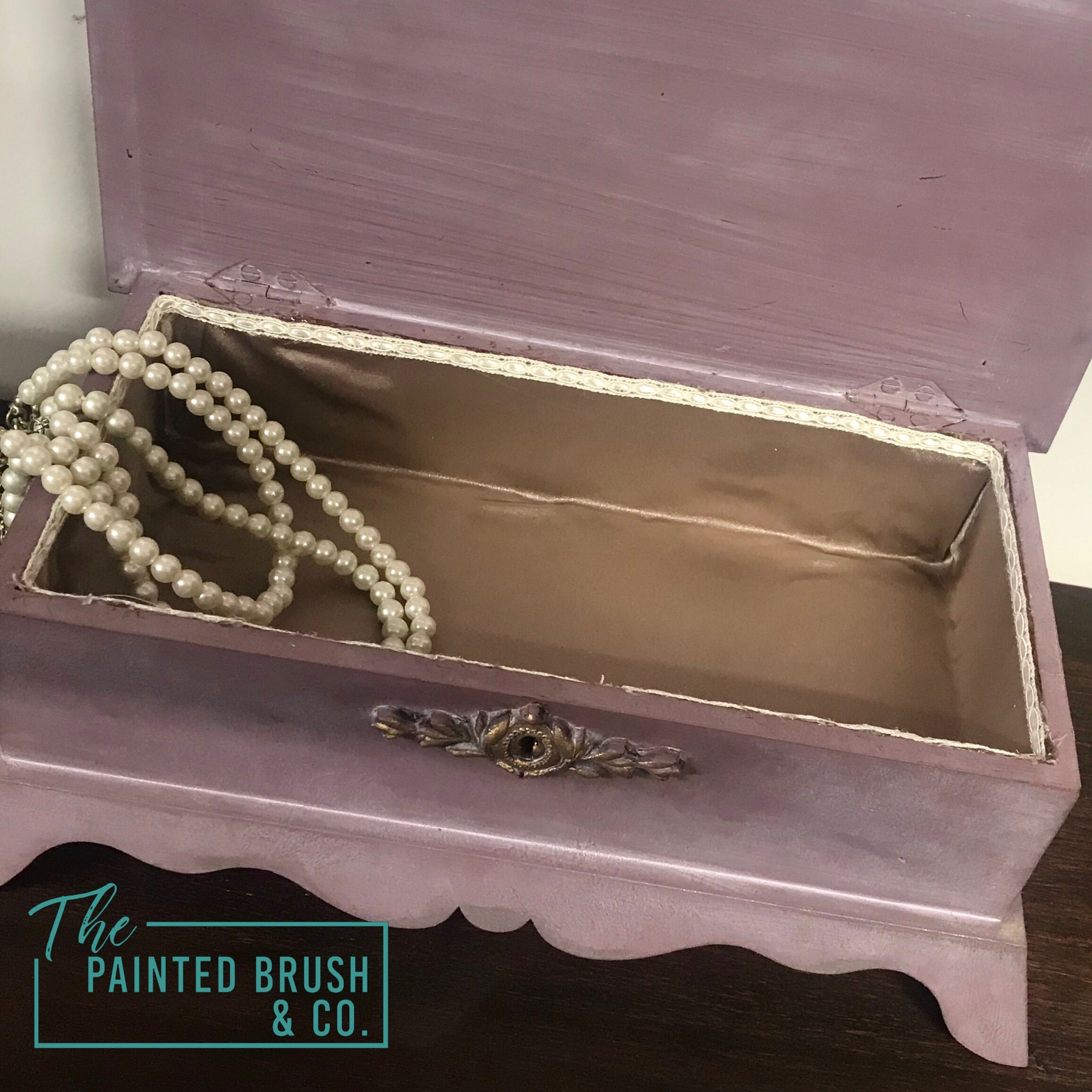 Pretty in Pink Jewellery Box