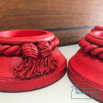 Mailbox Red Candle Holders