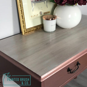 Rose Gold Dressing Table