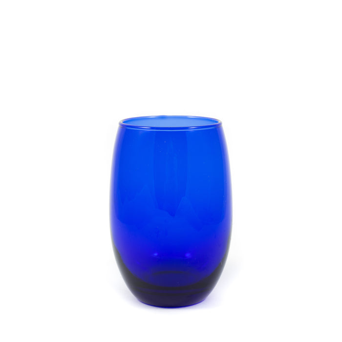 Cobalt Stemless Wine Glass