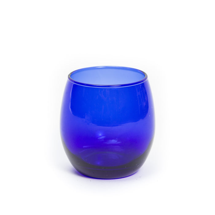 Cobalt Lowball Glass
