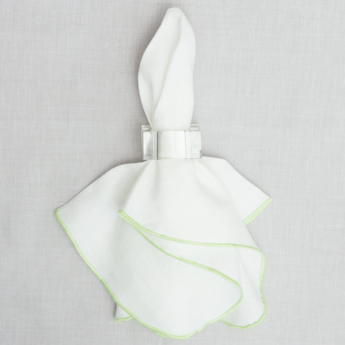 Georgia Lime Trim Dinner Napkin