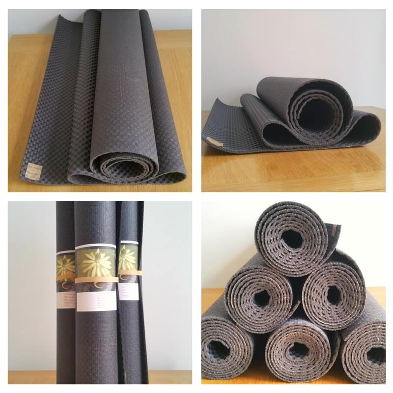 About ecoYoga natural yoga mat