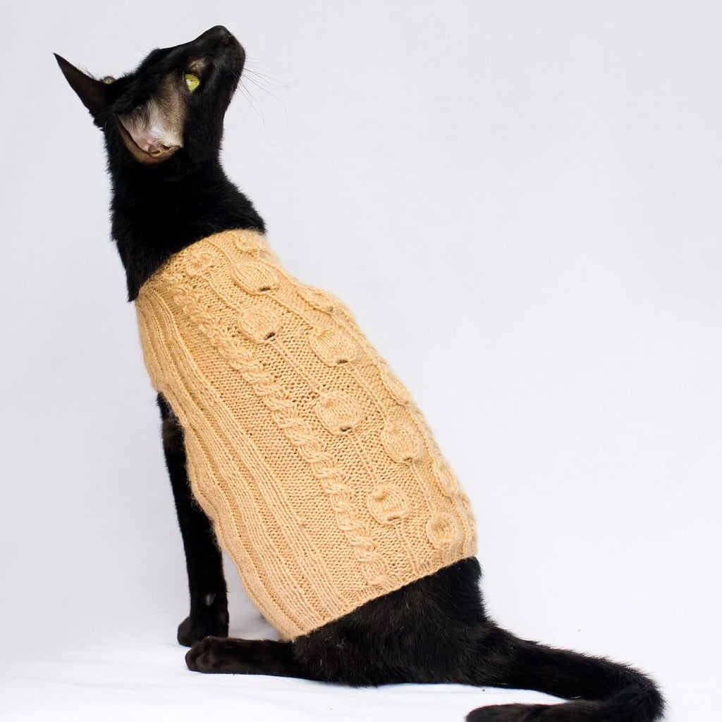 Petal Patch Cat Cardigan