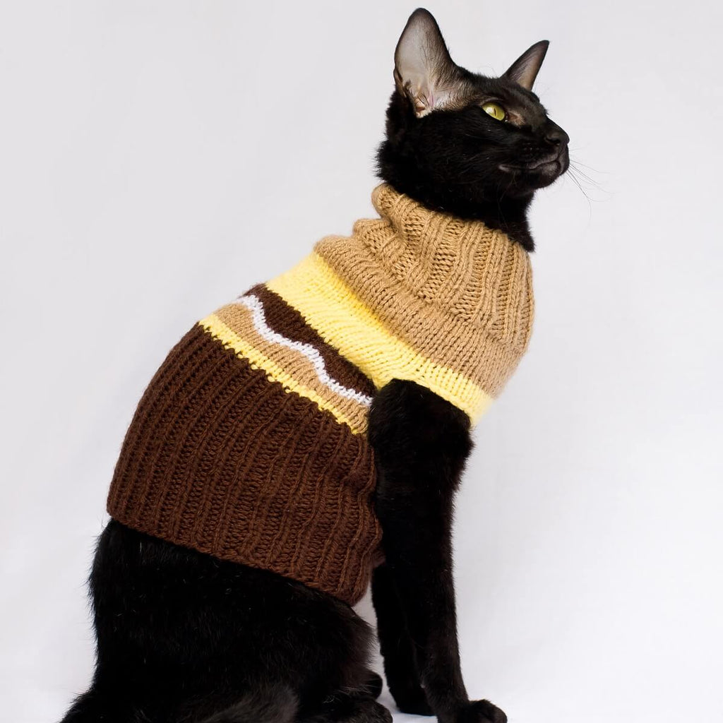 Little Twinkle Knitted Cat Jacket