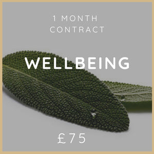 1 Month Wellbeing