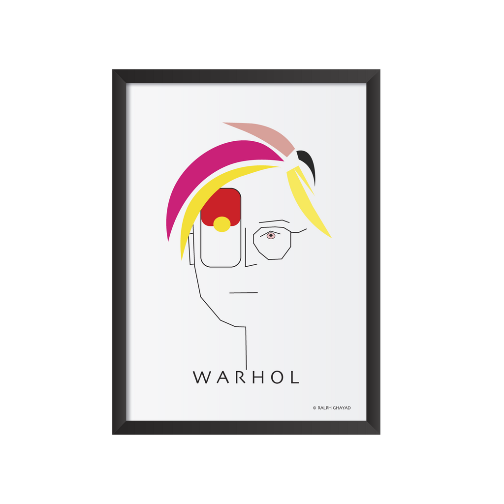 Andy Warhol Art frame