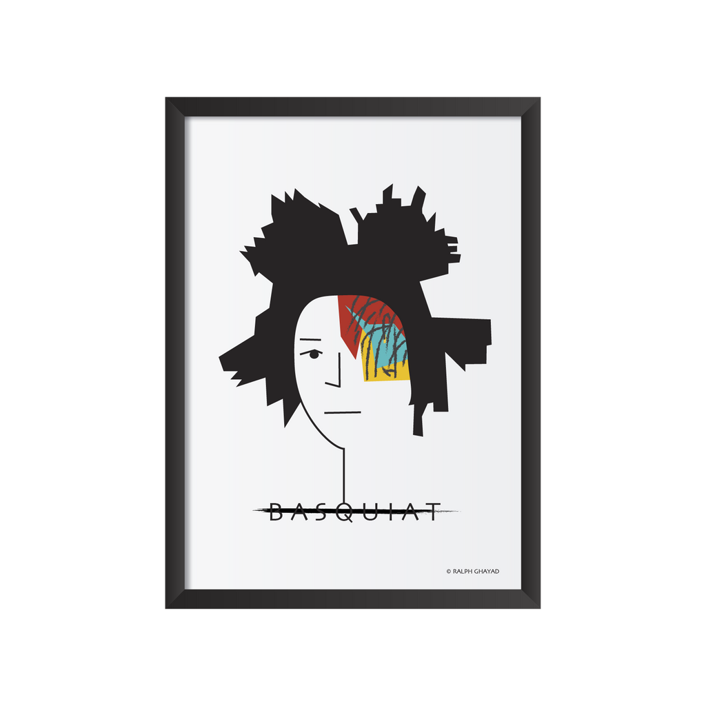 Jean Michel Basquiat Art Frame