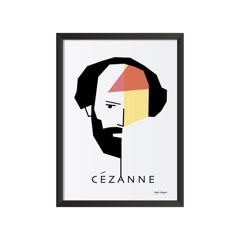 Paul Cezanne art frame