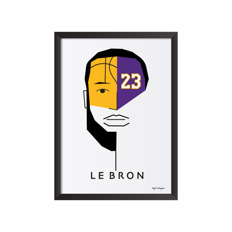 Le Bron James Art Frame