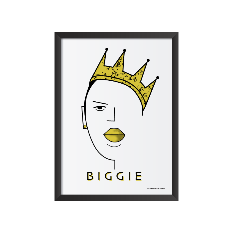 Biggie Art frame