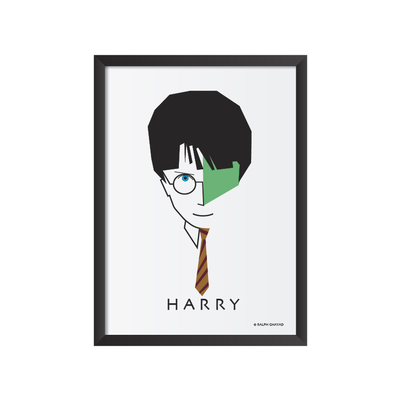 Harry Potter Art Frame