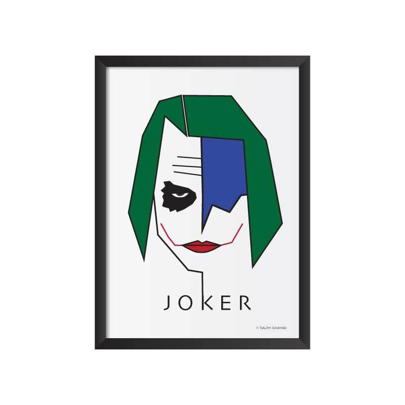 Joker Art Frame