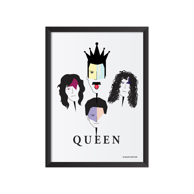 Queen Band Art frame