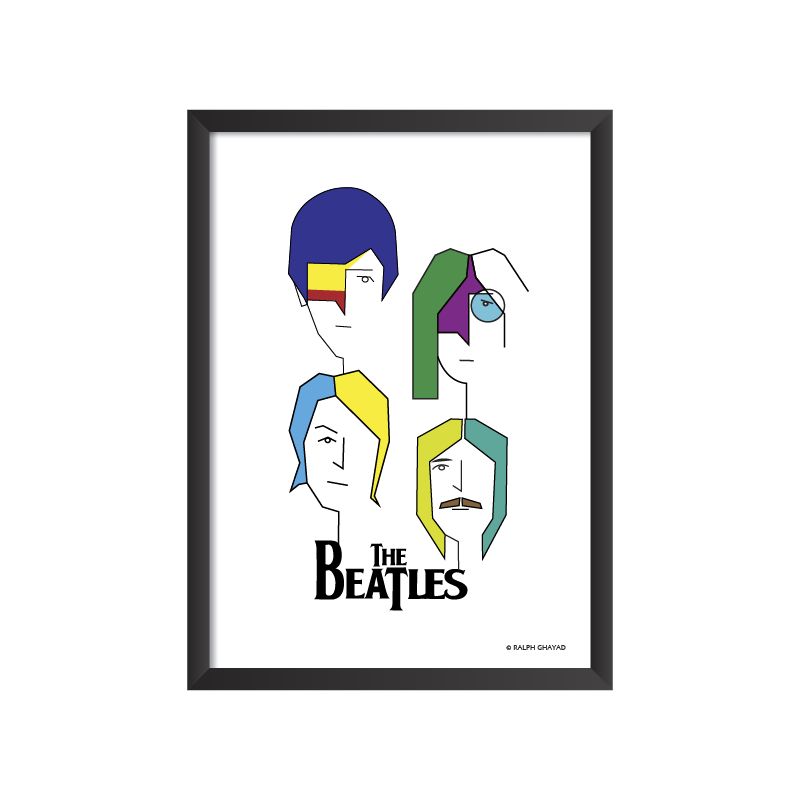 The Beatles Art Frame