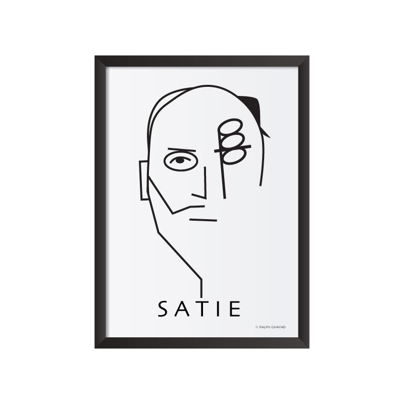 Erik Satie Art Frame