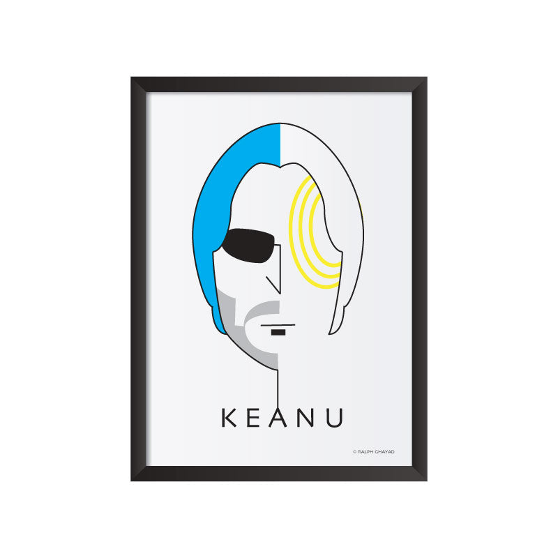 Keanu Reeves Art Frame