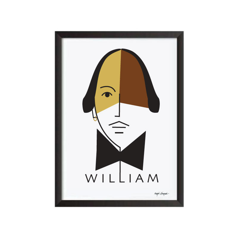 William Shakespeare Art Frame