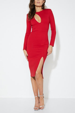 Stasia Empire Midi Dress