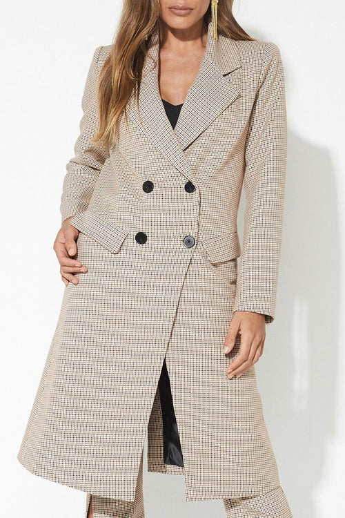 The Check Mate Coat