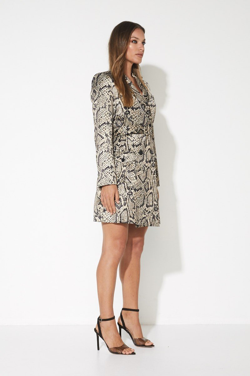 The Venomous Blazer Dress