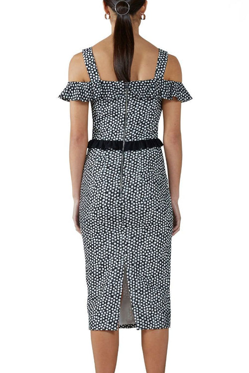 Amaya Tiered Midi Dress