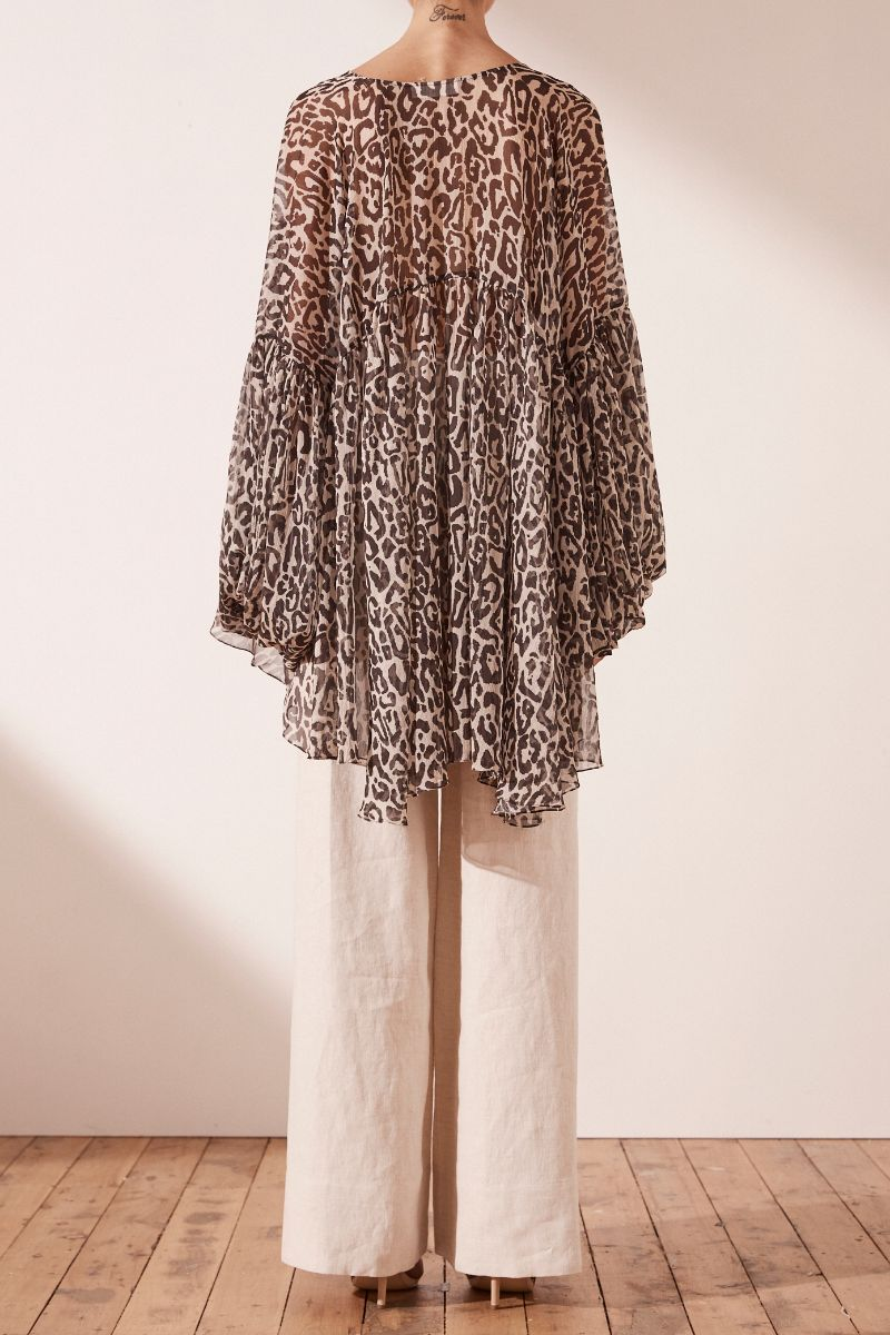 Mariposa Oversized Blouse